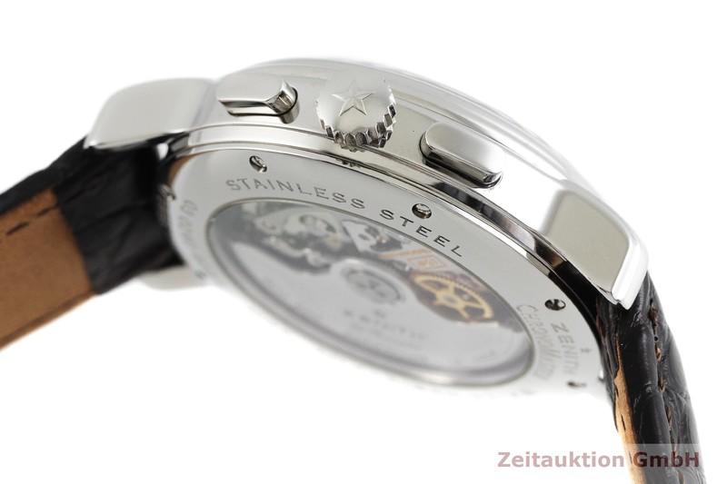 gebrauchte Luxusuhr Zenith El Primero Chronograph Stahl Automatik Kal. 4021 Ref. 03.0240.4021  | 2001924 _0