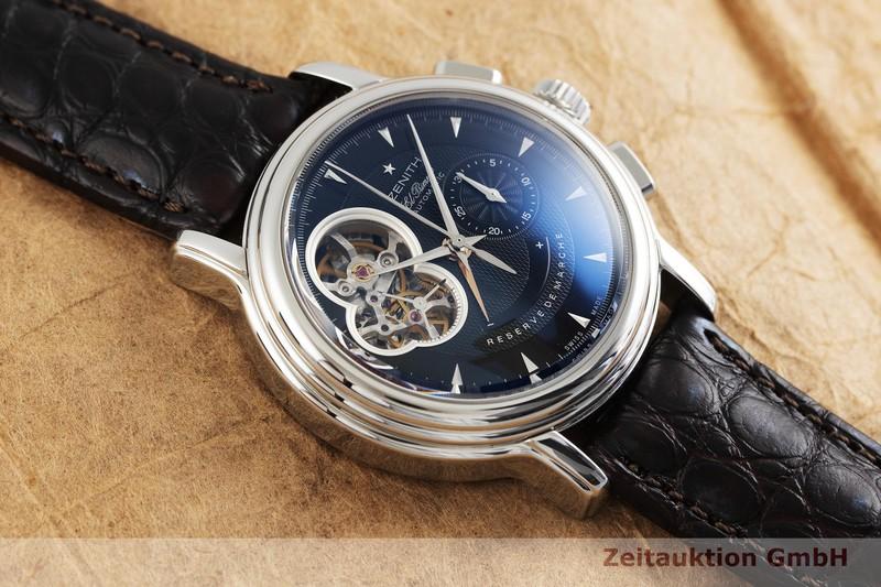 gebrauchte Luxusuhr Zenith El Primero Chronograph Stahl Automatik Kal. 4021 Ref. 03.0240.4021  | 2001924 _1
