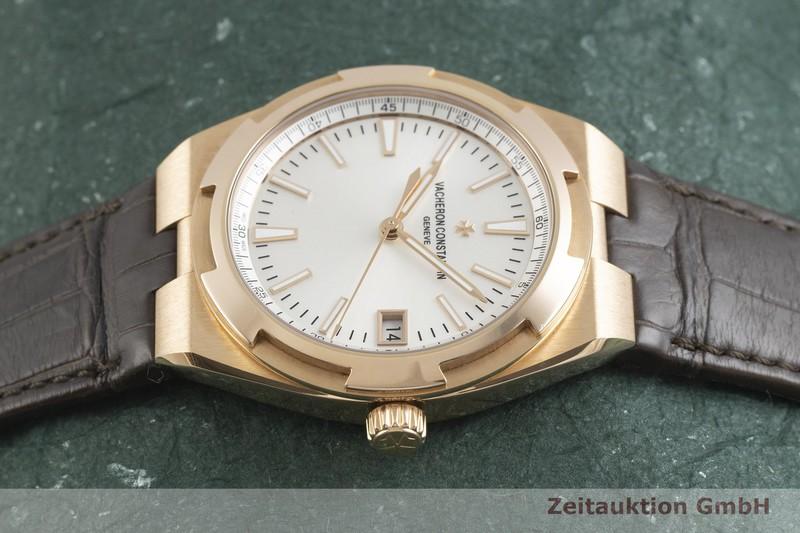 gebrauchte Luxusuhr Vacheron & Constantin Overseas 18k Gold Automatik Kal. 5100 Ref. 4500V/000R-B127  | 2001926 _0