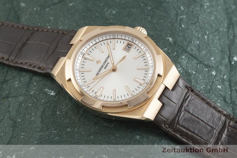 gebrauchte Luxusuhr Vacheron & Constantin Overseas 18k Gold Automatik Kal. 5100 Ref. 4500V/000R-B127  | 2001926 _1