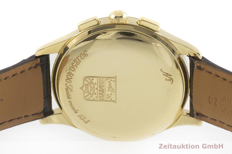 gebrauchte Luxusuhr Zenith El Primero Chronograph 18k Gold Automatik Kal. 400 Ref. 30.1250.400 LIMITED EDITION | 2001930 _0
