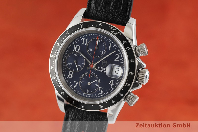 gebrauchte Luxusuhr Tudor Prince Date Chronograph Stahl Automatik Kal. ETA 7750 Ref. 79260P    2001946 _0