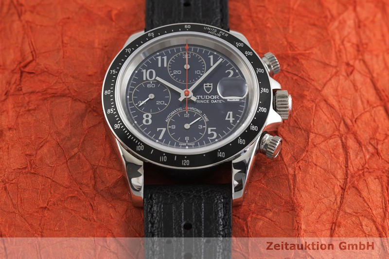 gebrauchte Luxusuhr Tudor Prince Date Chronograph Stahl Automatik Kal. ETA 7750 Ref. 79260P    2001946 _1