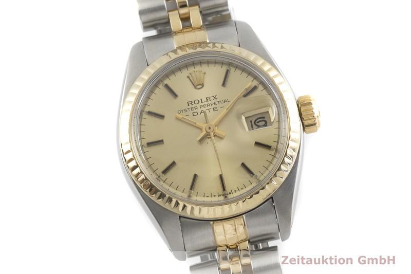 gebrauchte Luxusuhr Rolex Date Stahl / Gold Automatik Kal. 2030 Ref. 6917  | 2001956 _0