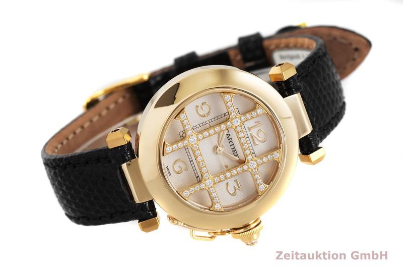 gebrauchte Luxusuhr Cartier Pasha 18k Gold Automatik Kal. 120, ETA 2000-1 Ref. 2399  | 2001973 _0