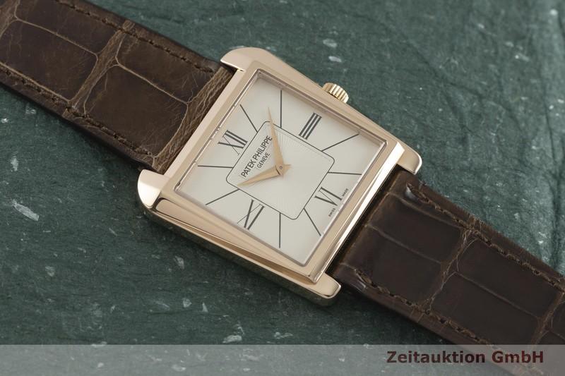 gebrauchte Luxusuhr Patek Philippe Gondolo 18k Rotgold Handaufzug Kal. 215 Ref. 5489R-001  | 2001989 _1