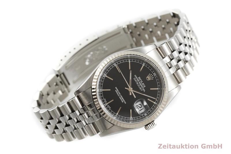 gebrauchte Luxusuhr Rolex Datejust Stahl / Weissgold Automatik Kal. 3135 Ref. 16234  | 2001999 _0