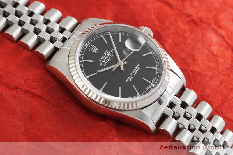 gebrauchte Luxusuhr Rolex Datejust Stahl / Weissgold Automatik Kal. 3135 Ref. 16234  | 2001999 _1
