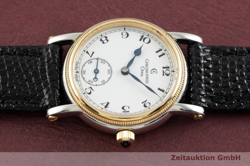 gebrauchte Luxusuhr Chronoswiss Orea Stahl / Gold Handaufzug Kal. ETA 7001 Ref. CH7162  | 2002001 _0