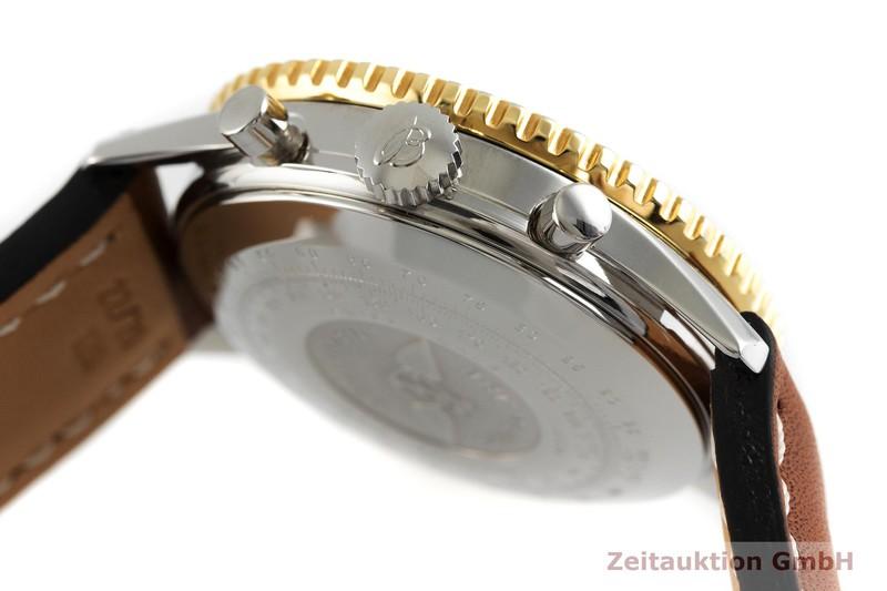 gebrauchte Luxusuhr Breitling Old Navitimer Chronograph Stahl / Gold Automatik Kal. ETA 7750 Ref. 81610  | 2002009 _0
