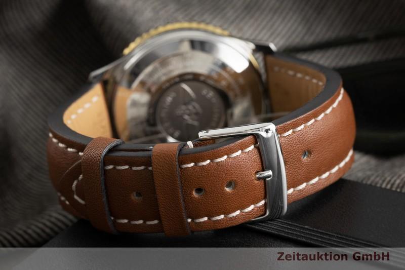 gebrauchte Luxusuhr Breitling Old Navitimer Chronograph Stahl / Gold Automatik Kal. ETA 7750 Ref. 81610  | 2002009 _1