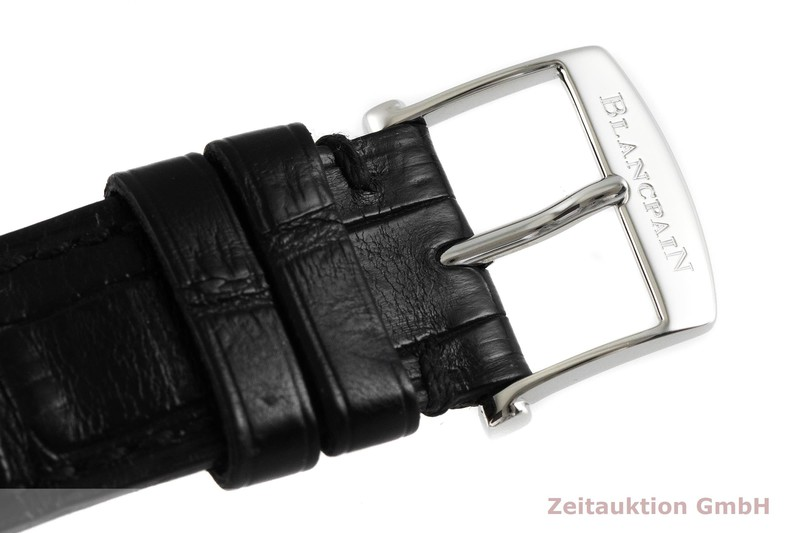 gebrauchte Luxusuhr Blancpain Villeret Chronograph Stahl Automatik Kal. M185  | 2002022 _1