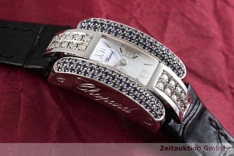 gebrauchte Luxusuhr Chopard La Strada Stahl Quarz Kal. ETA 901.001 Ref. 41/8443  | 2002026 _1