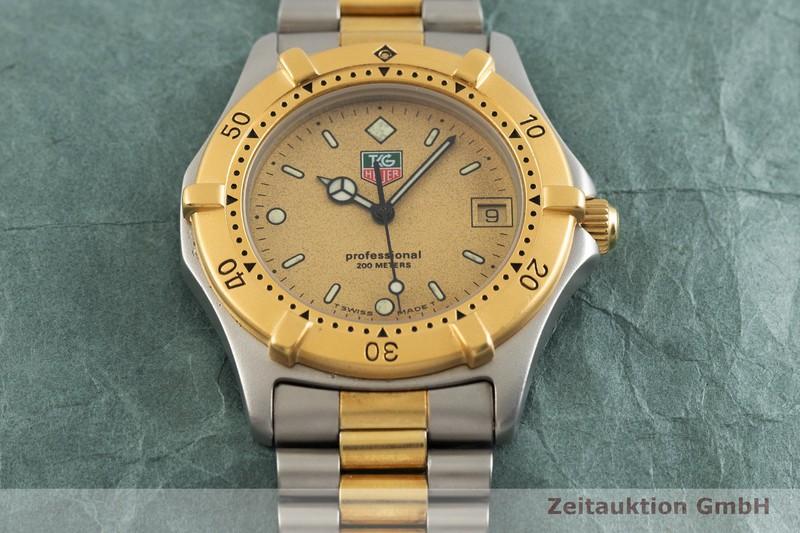gebrauchte Luxusuhr Tag Heuer Professional Stahl vergoldet Quarz Kal. ETA 955.112 Ref. 964.006-2  | 2002033 _1