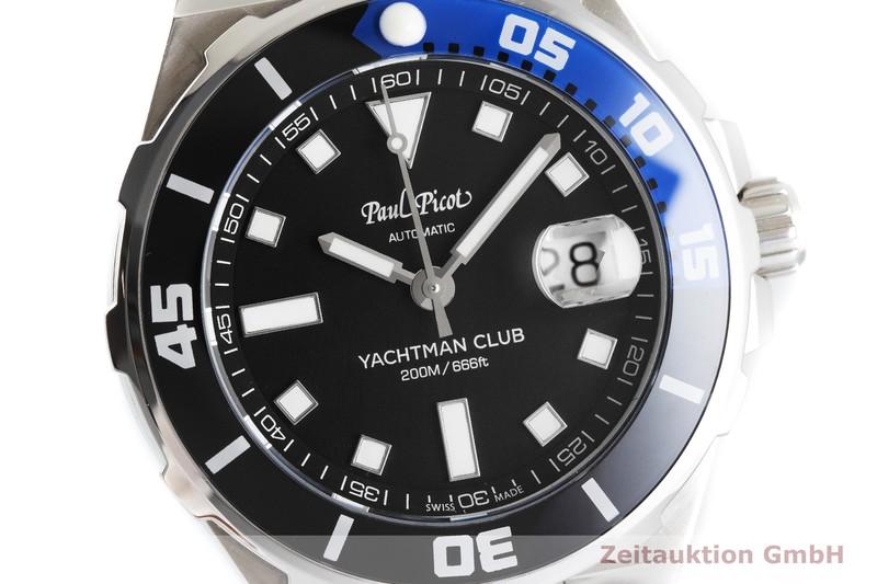gebrauchte Luxusuhr Paul Picot Yachtman Club Stahl Automatik Kal. 128 Ref. 1251N  | 2002037 _0