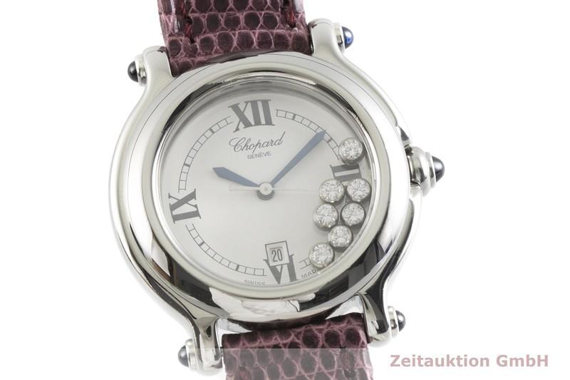 gebrauchte Luxusuhr Chopard Happy Sport Stahl Quarz Kal. ETA 956.112 Ref. 27/8236-23  | 2002040 _0