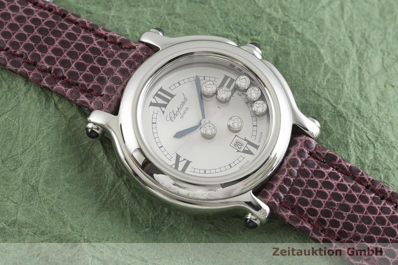 gebrauchte Luxusuhr Chopard Happy Sport Stahl Quarz Kal. ETA 956.112 Ref. 27/8236-23  | 2002040 _1