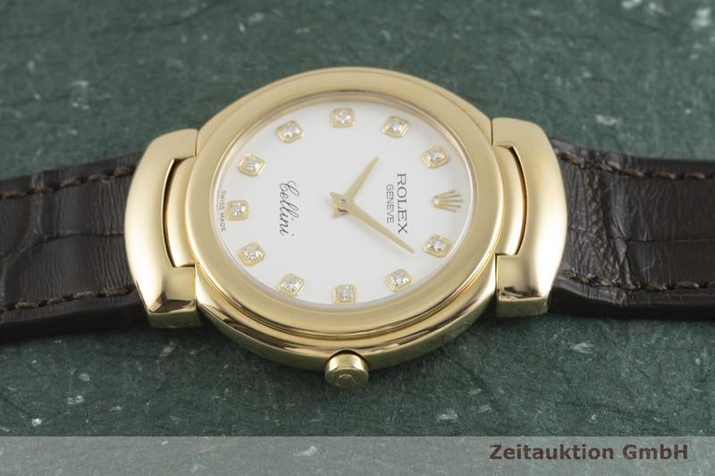 gebrauchte Luxusuhr Rolex Cellini 18k Gold Quarz Kal. 6620 Ref. 6622    2002043 _0