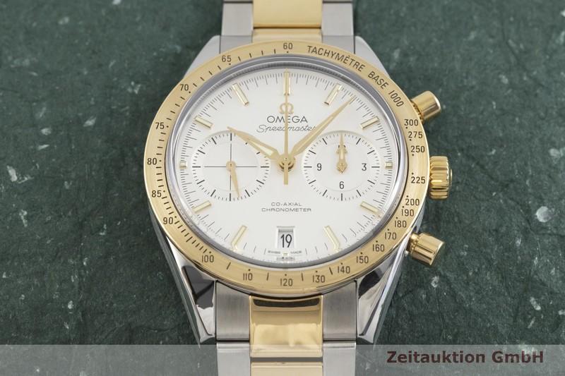 gebrauchte Luxusuhr Omega Speedmaster Chronograph Stahl / Gold Automatik Kal. 9300 Ref. 331.20.42.51.02.001 VINTAGE  | 2002058 _1