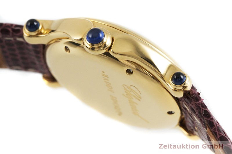 gebrauchte Luxusuhr Chopard Happy Sport 18k Gold Quarz Kal. ETA 956.112 Ref. 27/6144-23  | 2002065 _0