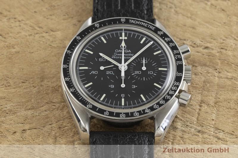 gebrauchte Luxusuhr Omega Speedmaster Moonwatch Chronograph Stahl Handaufzug Kal. 861 Ref. ST145.022 VINTAGE  | 2002068 _1