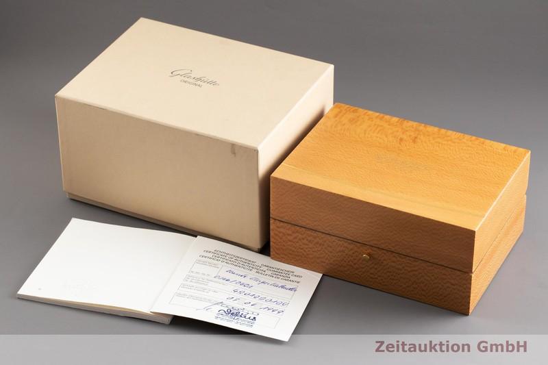 gebrauchte Luxusuhr Glashütte Senator Stahl Handaufzug Kal. GUB 42-01 Ref. 4201020104  | 2002069 _0