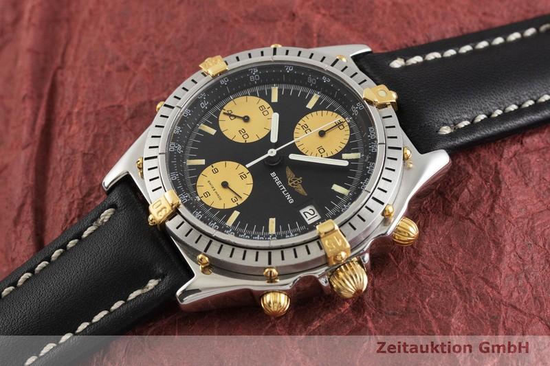 gebrauchte Luxusuhr Breitling Chronomat Chronograph Stahl / Gold Automatik Kal. B81, Valjoux 7750 Ref. 81.950  | 2002071 _0