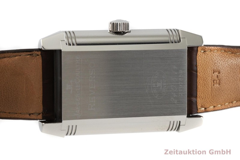 gebrauchte Luxusuhr Jaeger LeCoultre Reverso Stahl Handaufzug Kal. 874 Ref. 240.8.41    2002083 _0