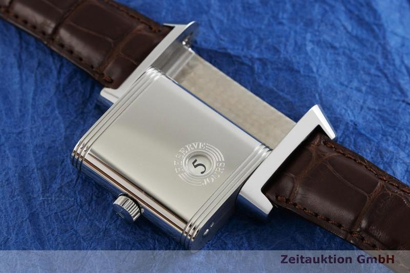 gebrauchte Luxusuhr Jaeger LeCoultre Reverso Stahl Handaufzug Kal. 874 Ref. 240.8.41    2002083 _1
