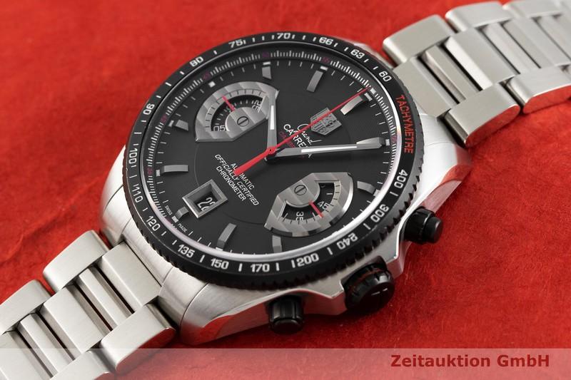 gebrauchte Luxusuhr Tag Heuer Carrera Chronograph Stahl Automatik Kal. 17, ETA 2894-2 Ref. CAV511C  | 2002085 _0