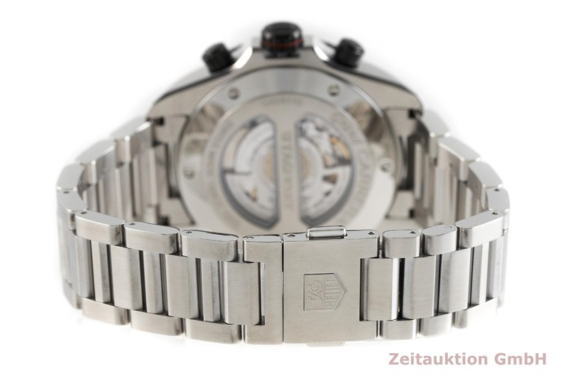 gebrauchte Luxusuhr Tag Heuer Carrera Chronograph Stahl Automatik Kal. 17, ETA 2894-2 Ref. CAV511C  | 2002085 _1