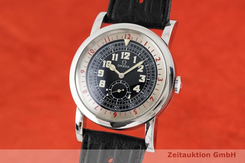 gebrauchte Luxusuhr Omega 1938 Stahl Automatik Kal. 2200 Ref. 167.2000 LIMITED EDITION | 2002088 _0