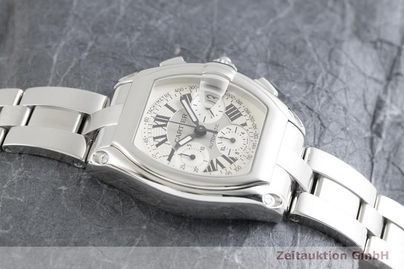 gebrauchte Luxusuhr Cartier Roadster Chronograph Stahl Automatik Ref. 2618  | 2002089 _1