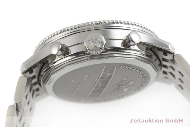 gebrauchte Luxusuhr Breitling Montbrillant Chronograph Stahl Automatik Kal. B35, ETA 2892-A2 Ref. A35330  | 2002092 _0