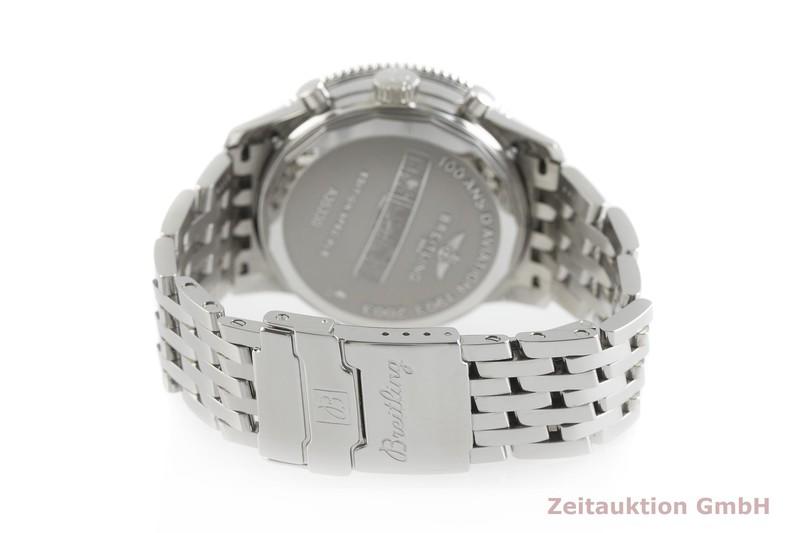 gebrauchte Luxusuhr Breitling Montbrillant Chronograph Stahl Automatik Kal. B35, ETA 2892-A2 Ref. A35330  | 2002092 _1