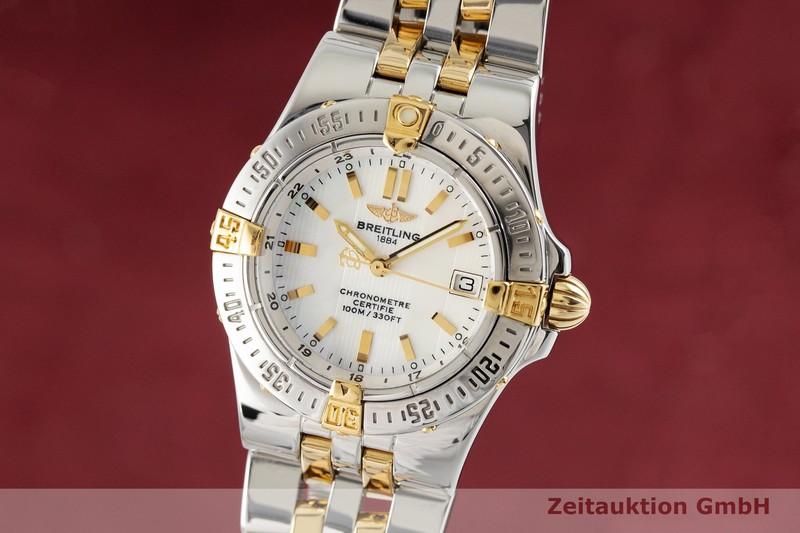 gebrauchte Luxusuhr Breitling Starliner Stahl / Gold Quarz Kal. B71 Ref. B71340  | 2002094 _0