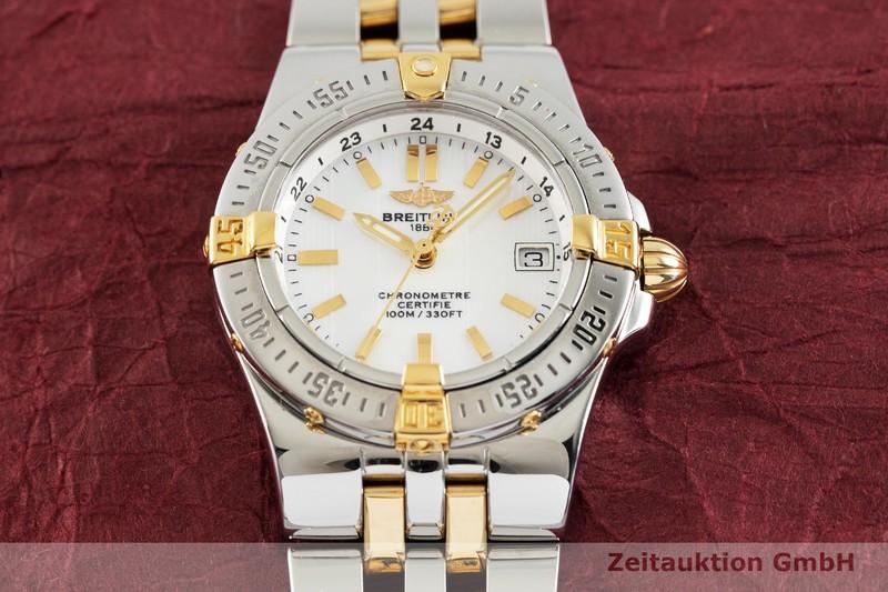 gebrauchte Luxusuhr Breitling Starliner Stahl / Gold Quarz Kal. B71 Ref. B71340  | 2002094 _1
