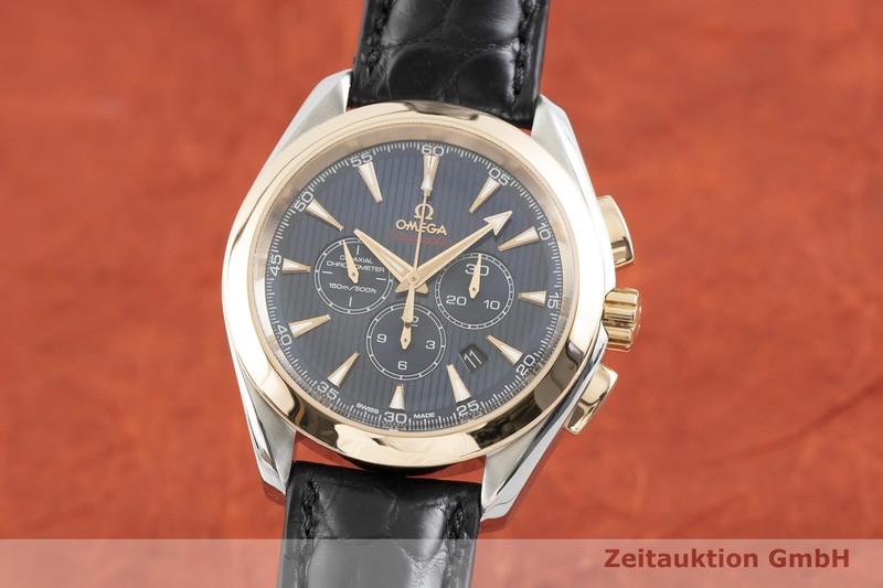 gebrauchte Luxusuhr Omega Seamaster Chronograph Stahl / Gold Automatik Kal. 3313 Ref. 178.1136  | 2002103 _0
