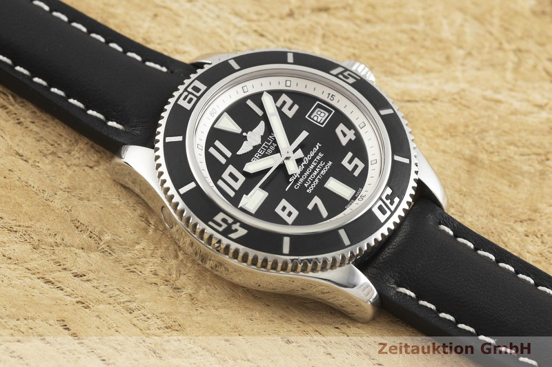 gebrauchte Luxusuhr Breitling Superocean Stahl Automatik Kal. B17, ETA 2824-2 Ref. A17364  | 2002105 _1