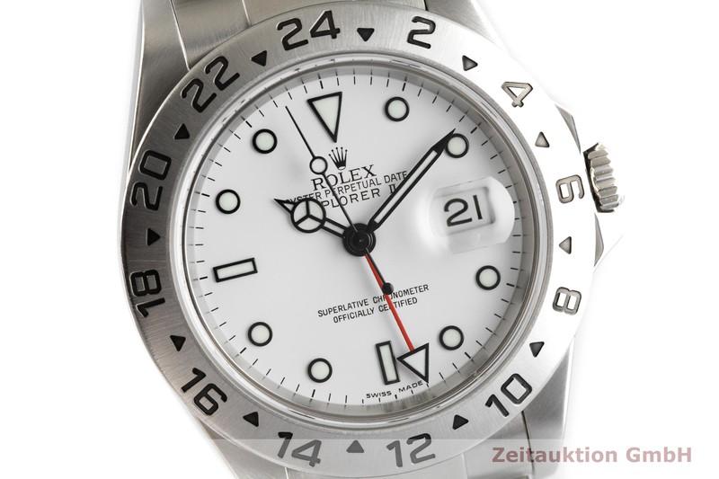 gebrauchte Luxusuhr Rolex Explorer II Stahl Automatik Kal. 3185 Ref. 16570T  | 2002117 _0