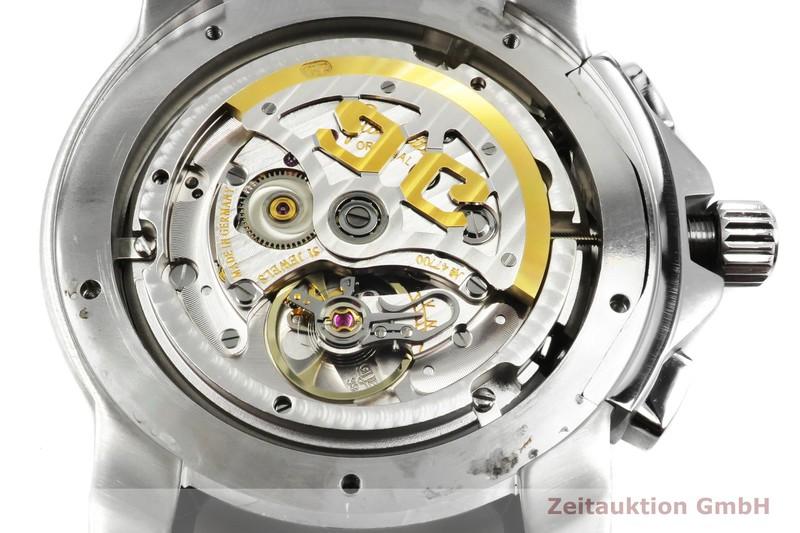 gebrauchte Luxusuhr Glashütte Sport Evolution  Chronograph Stahl Automatik Kal. GUB 39 Ref. 39-31-43-03-03  | 2002122 _0
