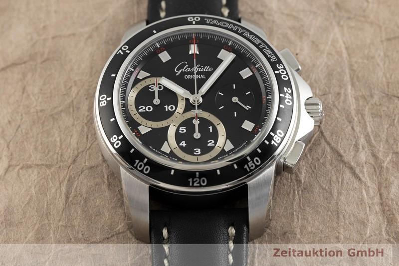 gebrauchte Luxusuhr Glashütte Sport Evolution  Chronograph Stahl Automatik Kal. GUB 39 Ref. 39-31-43-03-03  | 2002122 _1