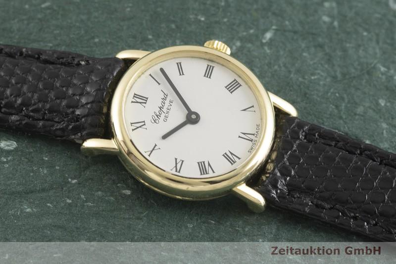 gebrauchte Luxusuhr Chopard Geneve 18k Gold Quarz Kal. ETA 280.002 Ref. 12/7271    2002126 _1