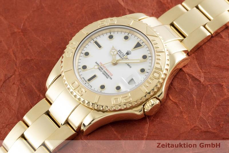gebrauchte Luxusuhr Rolex Yacht-Master 18k Gold Automatik Kal. 2135 Ref. 68628    2002128 _0