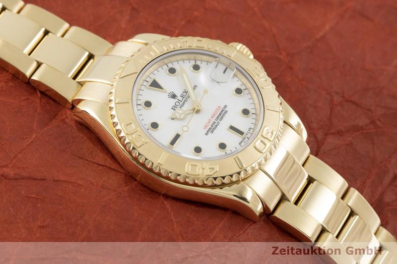 gebrauchte Luxusuhr Rolex Yacht-Master 18k Gold Automatik Kal. 2135 Ref. 68628    2002128 _1