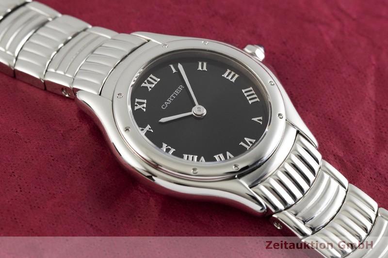 gebrauchte Luxusuhr Cartier Cougar Stahl Quarz Kal. 90.06 Ref. 12151  | 2002130 _1