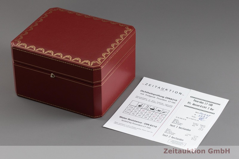 gebrauchte Luxusuhr Cartier Rotonde de Cartier Stahl Automatik Kal. 1904-FU Ref. 3773, W1556368  | 2002135 _0