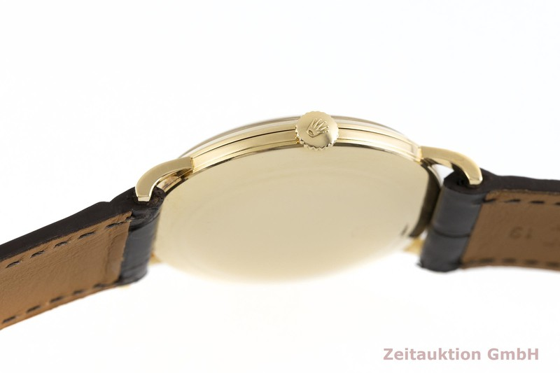gebrauchte Luxusuhr Rolex Precision 18k Gold Handaufzug Kal. 1210 Ref. 9659  | 2002146 _1