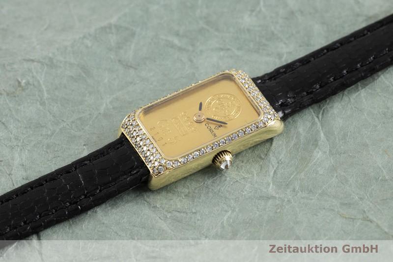 gebrauchte Luxusuhr Corum Goldbarren 18k Gold Handaufzug Kal. 846  | 2002172 _0