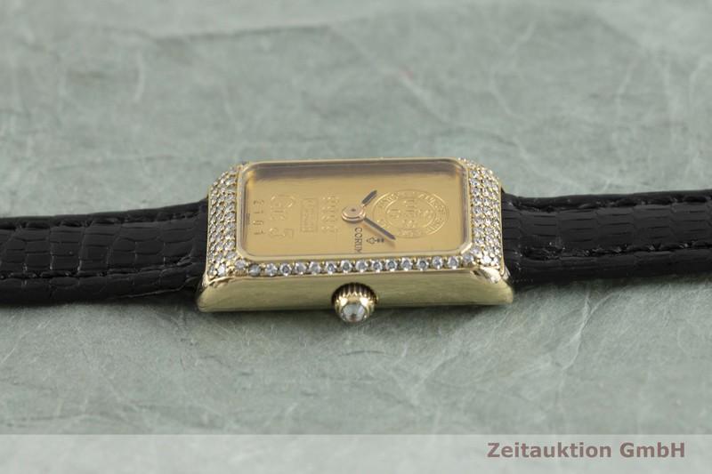 gebrauchte Luxusuhr Corum Goldbarren 18k Gold Handaufzug Kal. 846    2002172 _0